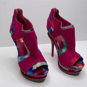 Alba open toe heels 5
